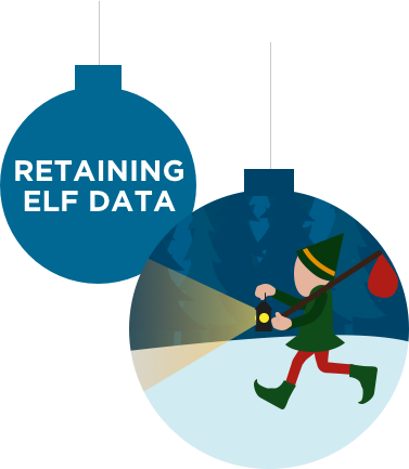 RETAINING ELF DATA